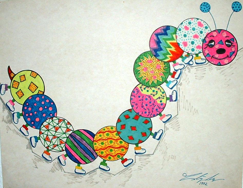 tiki kritzer seger artwork for children